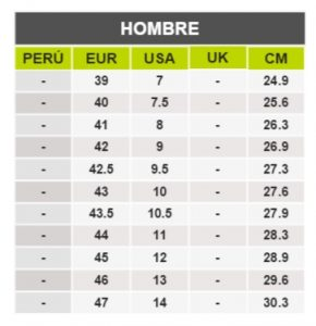 TeCuentoPeru-ALDO HOMBRE-Tallas Peru-EU-UE
