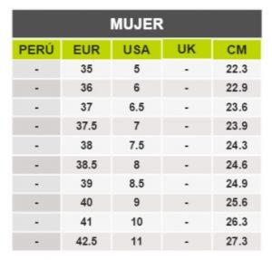 TeCuentoPeru-ALDO MUJER-Tallas Peru-EU-UE