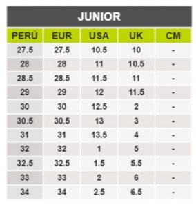 TeCuentoPeru-CAT JUNIOR -Tallas Peru-EU-UE