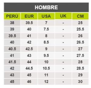 TeCuentoPeru-UMBRO HOMBRE -Tallas Peru-EU-UE