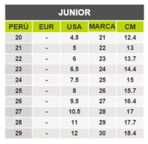 TeCuentoPeru-VICTORIA JUNIOR -Tallas Peru-EU-UE
